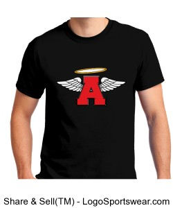 "The flying "" A "" with wings Design Zoom"